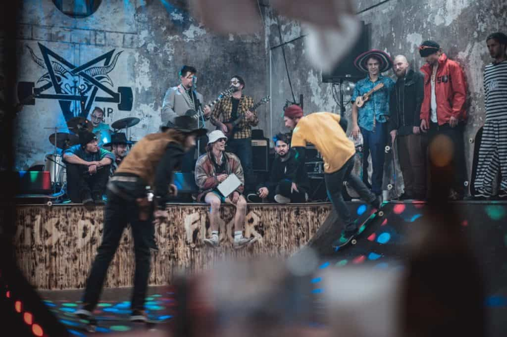Skateparks for Band Practice or Rehearsal Spaces